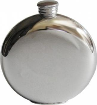 6oz Plain Round Flask