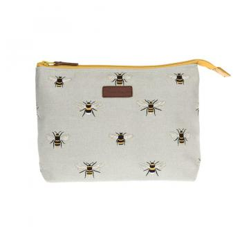 Sophie Allport Canvas Wash Bag, Bees