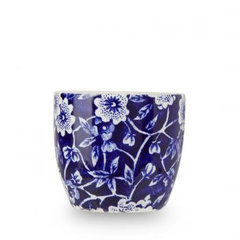 Egg Cup, Burleigh Blue Calico