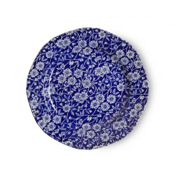 Tea Plate, Burleigh Blue Calico