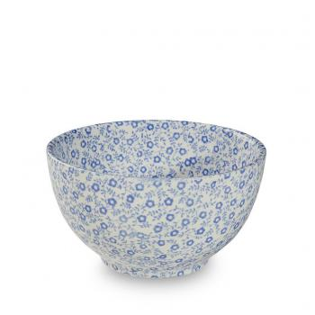 Large Sugar / Dips Bowl, Burleigh Pale Blue Felicity