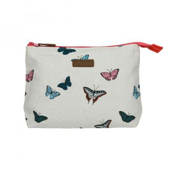 Sophie Allport Canvas Wash Bag, Butterflies