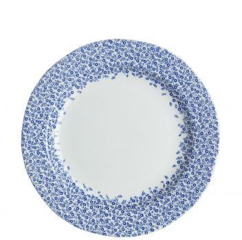 Dinner Plate, Burleigh Dark Blue Felicity