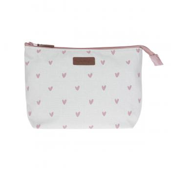 Sophie Allport Canvas Wash Bag, Hearts
