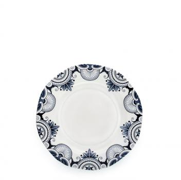 Tea Plate - Burleigh, Ink Blue Palisade