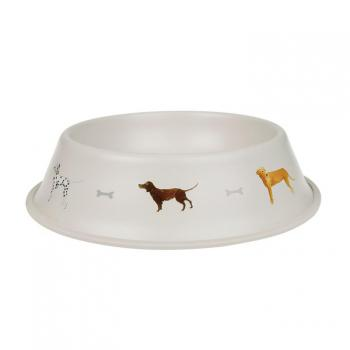 Sophie Allport Large Dog Bowl, Woof