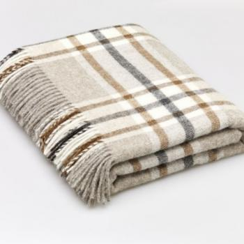 Bronte by Moon Throw Arncliffe Beige
