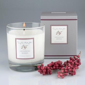 Sophie Allport Scented Candle 220g, Hedgerow Berries