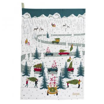 Sophie Allport Tea Towel Christmas