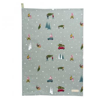 Sophie Allport Tea Towel, Home For Christmas