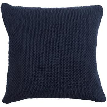 Sophie Allport Navy Blue Knitted Cushion