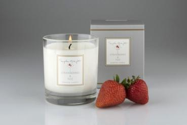 Sophie Allport Scented Candle 220g, Strawberry and Fizz