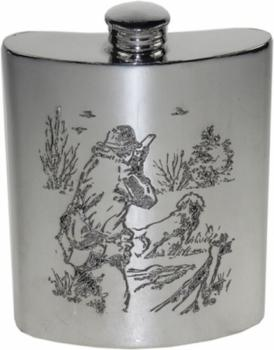 6oz Flask with Shooting Scene