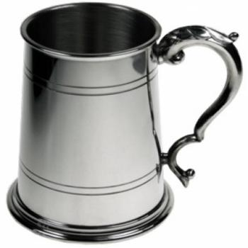 Pewter Tankard - Double Lined