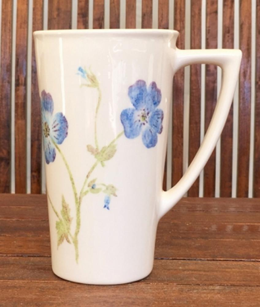English hand painted crockery