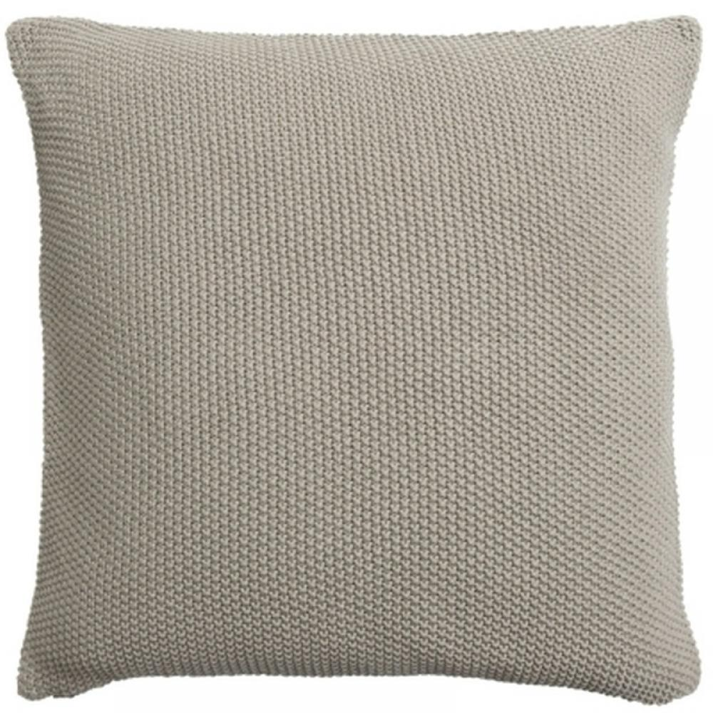 Sophie Allport Knitted Cushion Grey Taupe