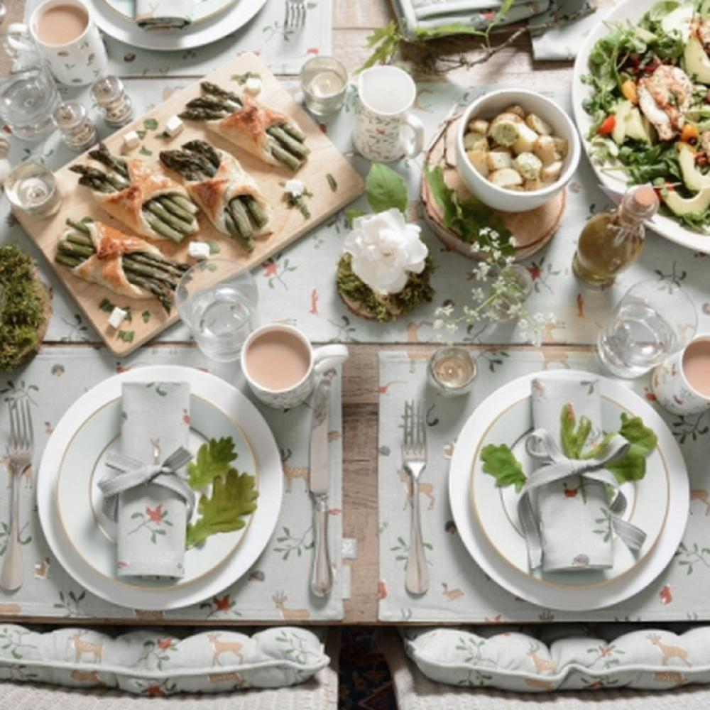 Sophie Allport Table Runner, Woodland