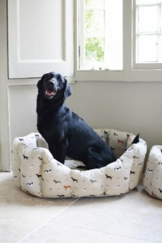 Sophie Allport Pet Bed Large, Woof!